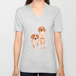 Gracie and George Unisex V-Neck