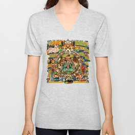 Beastie Boys Wow! Wow! Wow! Remix Tape Cover Unisex V-Neck