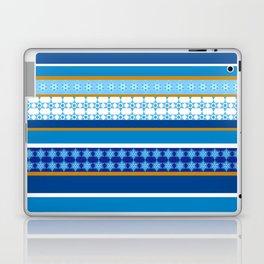 hanukkah wrap Laptop & iPad Skin