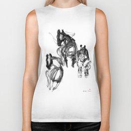 Horses (Stud) Biker Tank