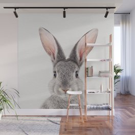 Baby Rabbit, Baby Animals Art Print By Synplus Wall Mural