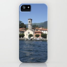 The village of Torno on Lake Como, Italy iPhone Case