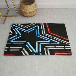 Neon Star Rug