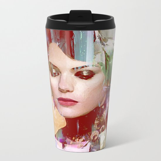 Vengeance of a betrayed woman Metal Travel Mug