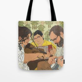 Old Time Friends Tote Bag