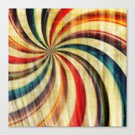 Wild Twirl Abstract Canvas Print