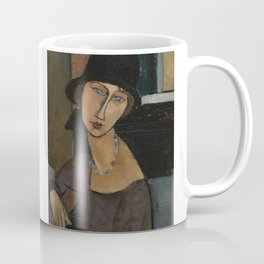 Modigliani - Jeanne Hebuterne With Hat And Necklace Coffee Mug