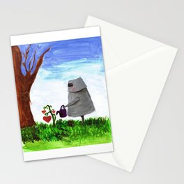 Sewing the Seeds of Love Stationery Cards