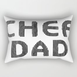 Fathers Day! CHEF DAD Rectangular Pillow