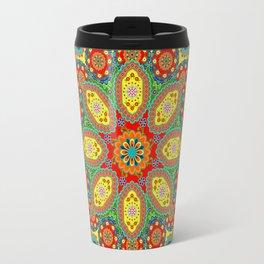 Colors of India Travel Mug