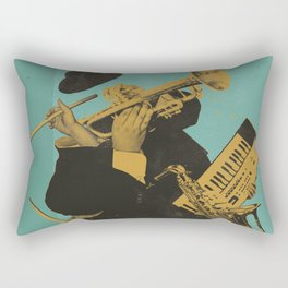 ABSTRACT JAZZ Rectangular Pillow