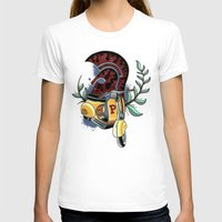 vespa T-shirts featuring Vespa by Mirek Kopinec