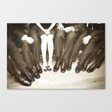 The Groomswoman Canvas Print