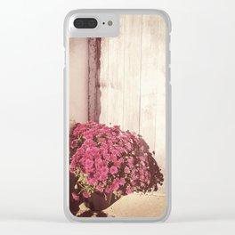 Vintage Bouquet Clear iPhone Case