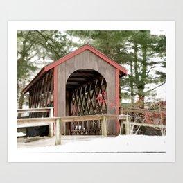 Photography Covered Bridge Art Print