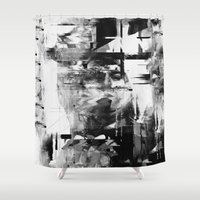 kurt rahn Shower Curtains featuring Kurt by nicebleed