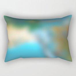 My secret lake Rectangular Pillow