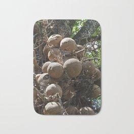 Cannonball Tree Fruit Bath Mat