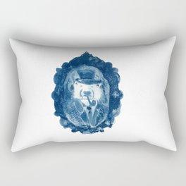 Portrait of Ursus Maritimus, Explorateur of the Arctic Regions Rectangular Pillow