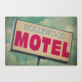 The Hollywood No-Tell Motel Canvas Print