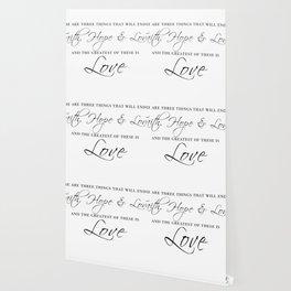 faith hope & love Wallpaper