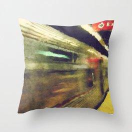 Philly Underground Throw Pillow