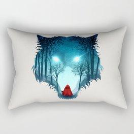 Big Bad Wolf (light version) Rectangular Pillow