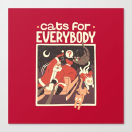 Cats for Everybody Canvas Print