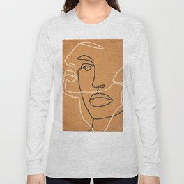 Abstract Face 6 Long Sleeve T-shirt