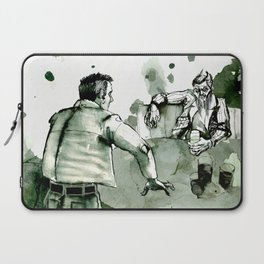Mr. Wednesday at the bar (American Gods) Laptop Sleeve
