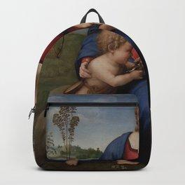 Raphael - Madonna del cardellino Backpack