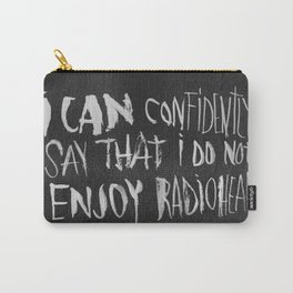 The King of Boring Carry-All Pouch