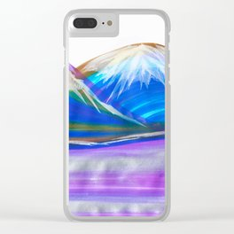 Mountains of Colour Clear iPhone Case