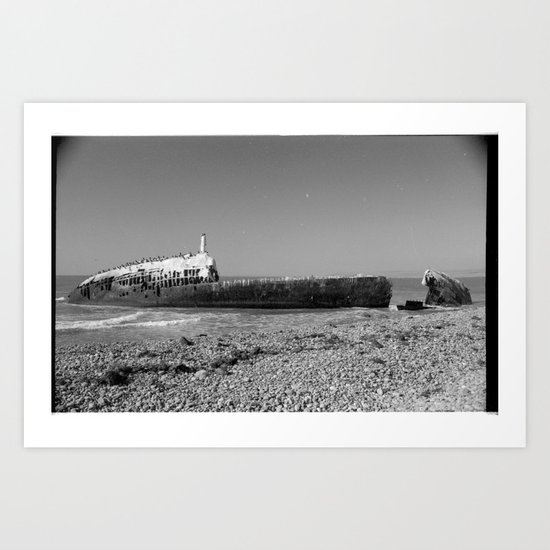 shipwreck Art Print