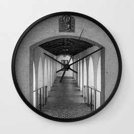 Rollins Covered Greek Residence Hall Walkway Rollins College Central Florida Orlando Wall Clock