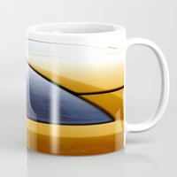 transformer Mugs featuring The Eye Of A Transformer by VHS Photography
