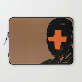 The Face Of The Leader Laptop Sleeve