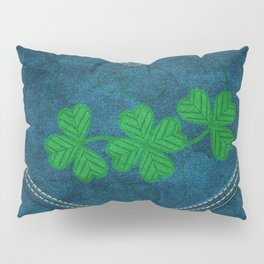Shamrock Digital Embroidery Pillow Sham