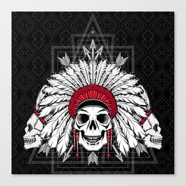 Southern Death Cult Canvas Print