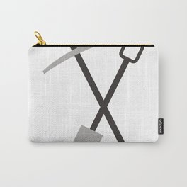 shovel and pickaxe Carry-All Pouch