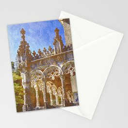 Gothic tracery, Bucaco, Portugal Stationery Cards