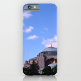 An Afternoon in Hagia Sophia (Aya Sofia, Istanbul) iPhone Case