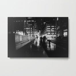 New York City Noir Metal Print
