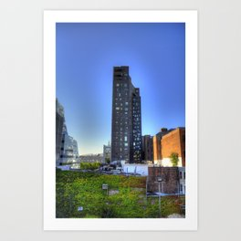A Room With A View Art Print