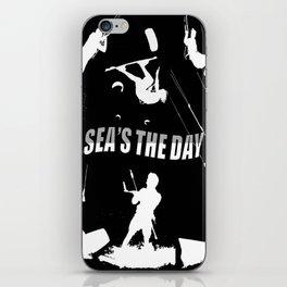 Seas The Day Kitesurfing iPhone Skin