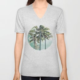 Under the palms Unisex V-Neck