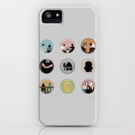 SANA BAKKOUSH: A MINIMALIST STORY iPhone Case