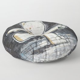 Banksy's Big Bad Bear Floor Pillow