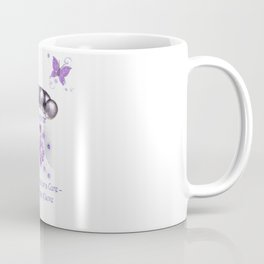 Power Purple For a Cure - The Wings Of Love - Survivor Coffee Mug