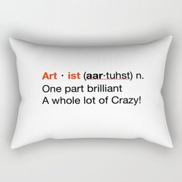 Artist Definition Rectangular Pillow